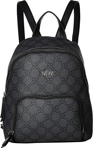 Nine West Womens Floret Backpack Jet Black One Size