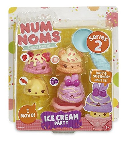 Num Noms Series 2 - Scented 4-Pack - Ice Cream Party ()