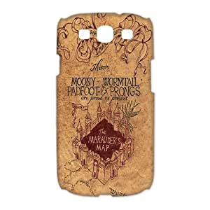 Fashion Design Marauder's Map Hard Plastic Back Protective Case for Samsung Galaxy S3 I9300 FC-2