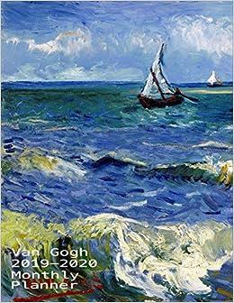 2019-2020 Monthly Planner Van Gogh: Stuning Van Gogh Daily ...