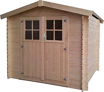 Decor Et Jardin Malo Wood Shed Size 233 X 215 H 211 Cm