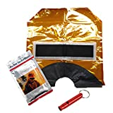 HKMASK Emergency Fire Escape Survival Pocket Smoke Mask Hood & Whistle