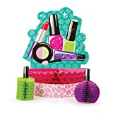 Pack of 6 Pop-Up Sparkle Spa Party! Honeycomb Party Centerpiece 12''