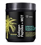 Cheap Collagen Peptides and MCT Oil Powder – Hydrolyzed Bovine Protein with Medium Chain Fatty Acids – Keto and Diet Friendly Supplement for Anti-Aging, Weight Loss, Skin, Bones and Joints