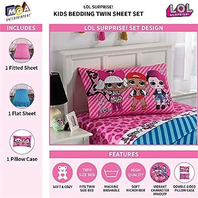 L.O.L. Surprise! Kids Bedding Soft Microfiber Sheet Set