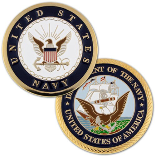 U.S. Navy Commemorative Challenge Coin Commemorative Challenge Coin