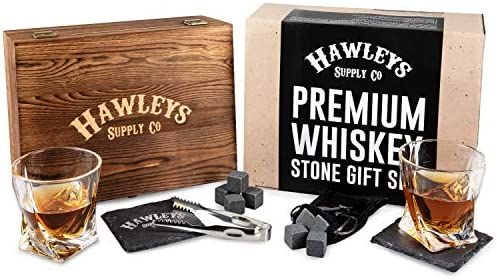 Whiskey Stones Glass Gift Set product image