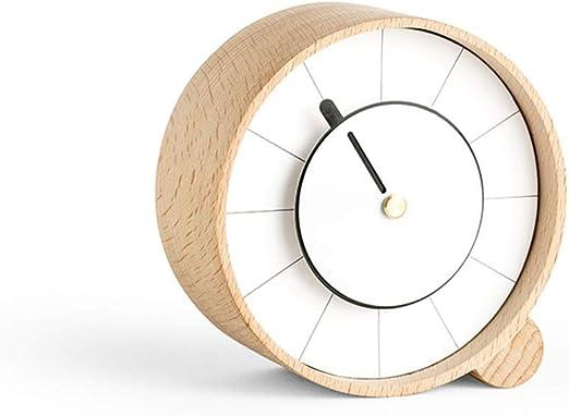 JBP max Reloj de jardín Soporte Reloj Personalidad Creativo Escritorio Dormitorio Reloj decoración Reloj reloj-JBP31,B: Amazon.es: Hogar