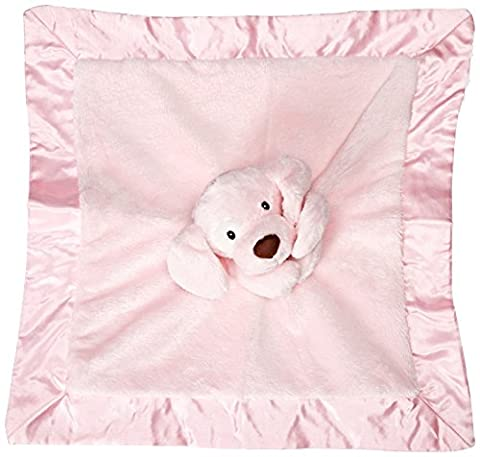 Gund Baby Spunky Dog Lovey Toy, Pink (Animal Baby Blankets For Girls)