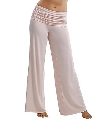 1c3294d73e PJ Harlow Jordan Fold Over Knit Pant - PJP01 at Amazon Women s Clothing  store