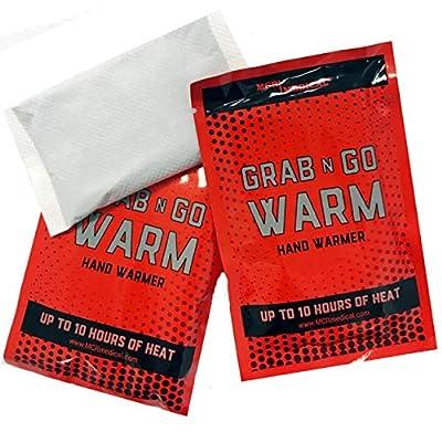MCR Medical Grab-N-Go Warm Hand Warmers (Pack of 50)