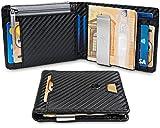 "TRAVANDO Wallet Mens with Money Clip ""New York"" RFID Blocking Slim Wallet | Credit Card Holder | Travel Wallet | Minimalist Mini Wallet Bifold for Men with Gift Box"