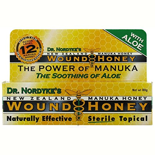 Honey Wound Care (Eras Natural Sciences' Wound Honey, Manuka Honey, Wound, 80 Grams (2.8 ounces))