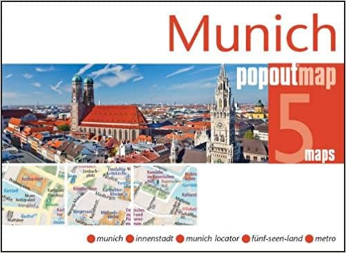 PopOut Map Munich Double (Popout Maps): Amazon.de: Popout Maps ...