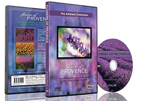 Relaxing DVD - Flowers of Provence for Aroma Theraphy and Relaxation With Piano Music and Nature Sounds