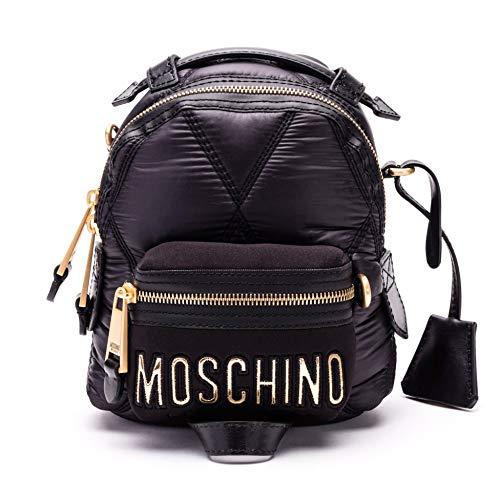 Zaino Poliammide Moschino B760682071555 Nero Donna OZZzdwq8