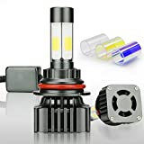 Automotive : Zdatt 12000LM 9004 HB1 LED Headlight Bulbs Conversion Kits Super Bright 100W High Low Beam 360 Degree(4 Sides) Lighting Lamps for Car Light Replacement-3000K Yellow/6000K Cool White/8000K Blue(2 Pack)