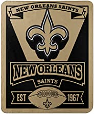 """The Northwest Company Officially Licensed NFL Marque Printed Fleece Throw Blanket, 50"""" x 60"""","""