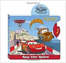 Spy the Spies (Disney/Pixar Cars) (Pop-Up Book): RH Disney