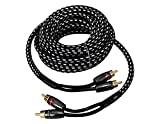 Absolute USA COMR20 20-Feet Competition Series RCA Audio Interconnect Cable