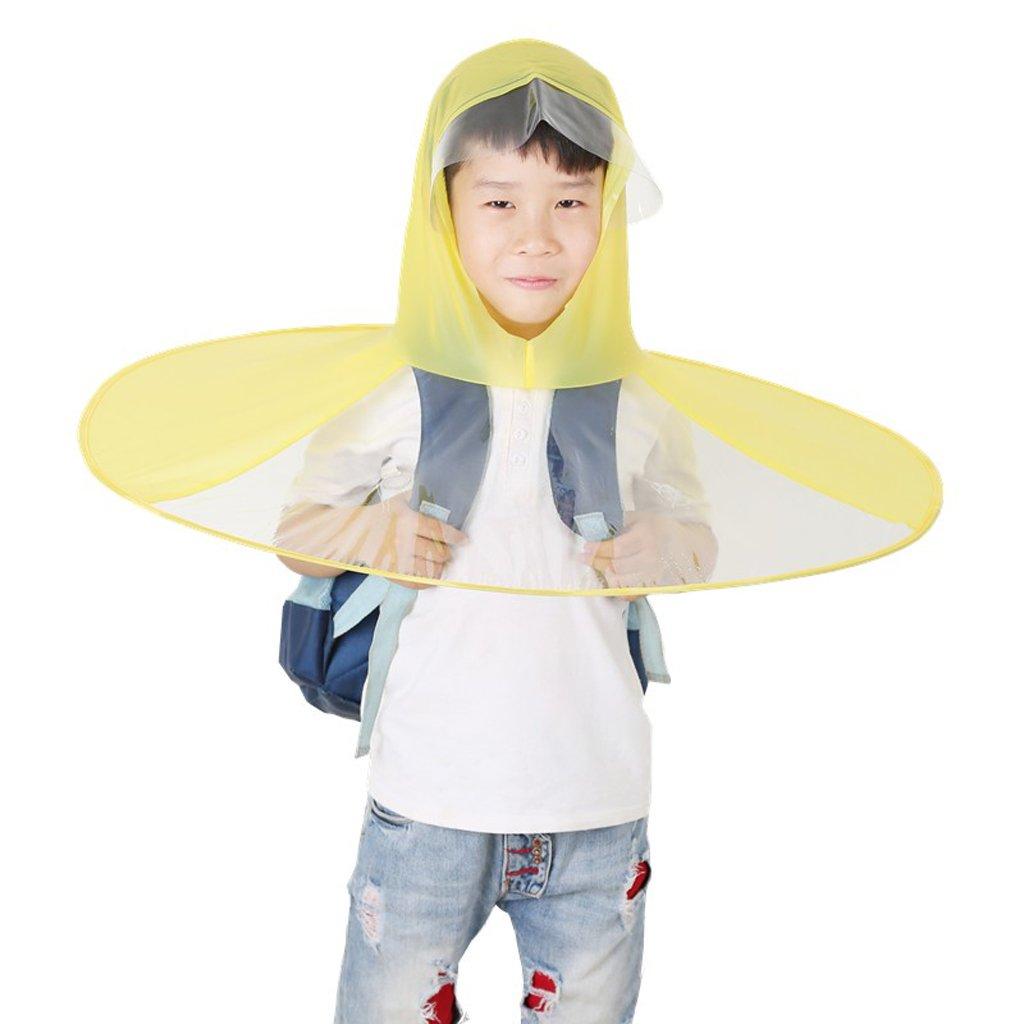 Chapeau de parapluie de baie créative ( Couleur : Le jaune , taille : M )
