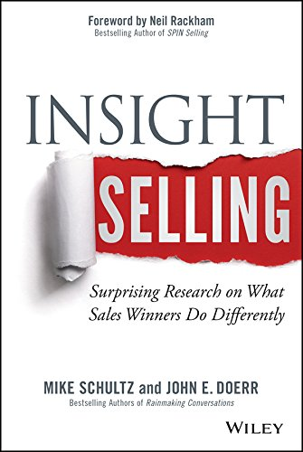 What do winners of major sales do differently than the sellerswho almost won, but ultimately came in second place? Mike Schultz and John Doerr, bestselling authors andworld-renowned sales experts, set out to find the answer. Theystudied more than 700...
