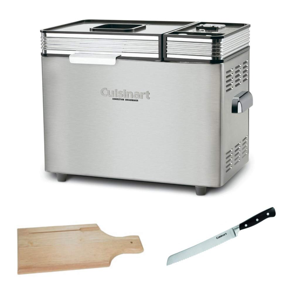 Cuisinart CBK-200FR 2-Pound Convection Automatic Bread Maker Includes Bread Knife and Bread Board (Certified Refurbished)
