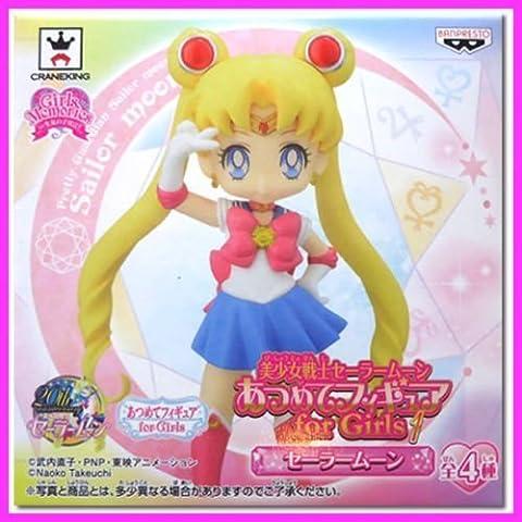 SUPER RARE Sailor Moon 20th Atsumete Figure Doll for Girls MOON Kawaii JAPAN (Atsumete Sailor Moon)