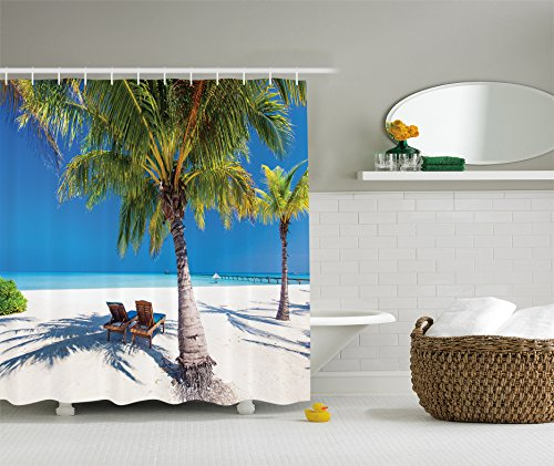Romantic Ambesonne Tropical Paradise Accessories product image