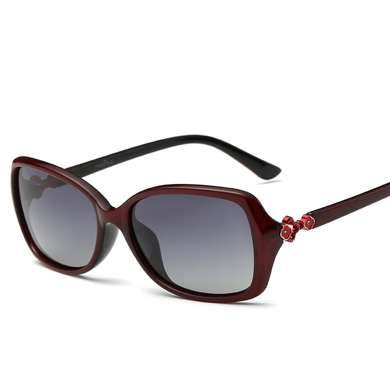 b7cd84366c Gafas de sol de mujer caja pequeña/La moda retro gafas de sol polarizadas/