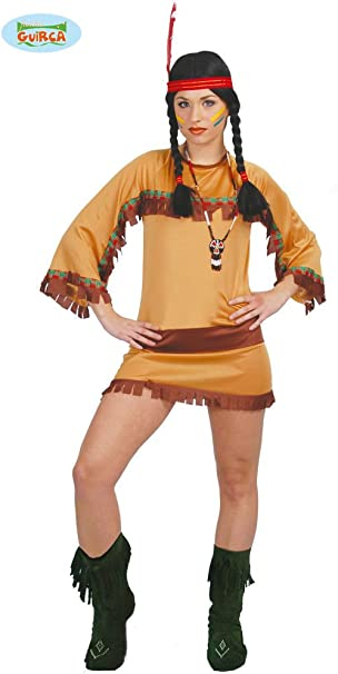 Disfraz de india del gran cañón sexy - Estándar: Amazon.es: Ropa y ...