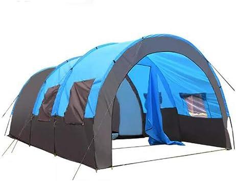 Qnlly Gran Carpa Familiar para Acampar con Habitaciones para ...