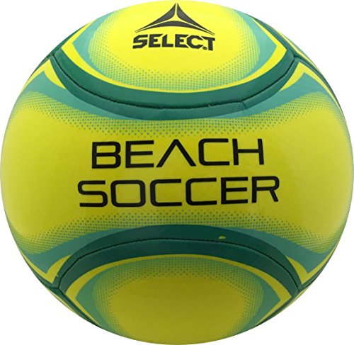 Select Sport America Beach Soccer Ball, Size 5, Yellow