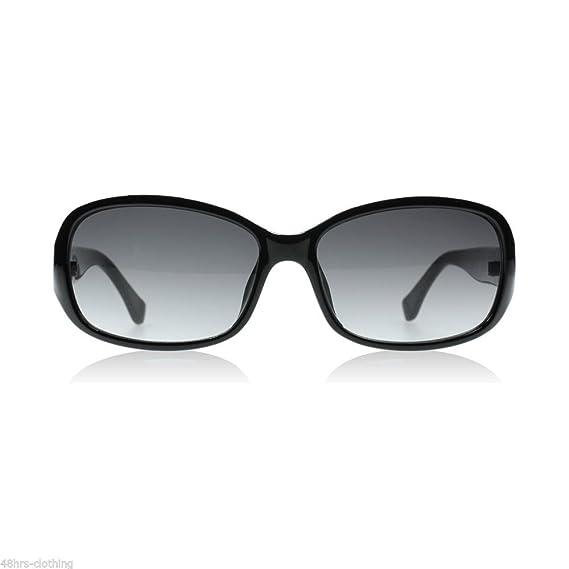 53759ea828 Michael Kors  Eve  Designer Ladies Sunglasses In Black M2844S - 001  Amazon. co.uk  Clothing
