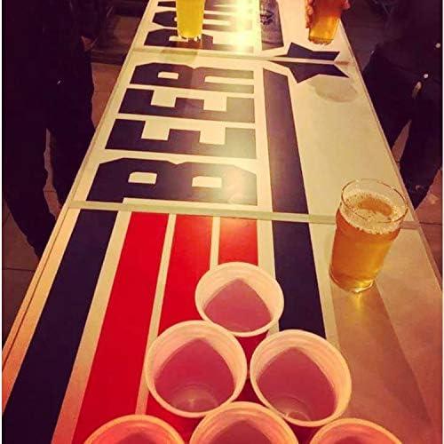 Original Cup - Mesa Oficial de Beer Pong, Cerveza, 240 x 60 x 70 cm, Resistente a los Arañazos, Estable, Ligero, para Fiesta - Topgun: Amazon.es: Juguetes y juegos