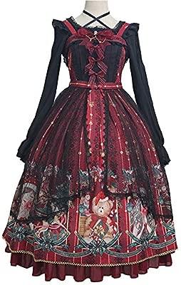 WJX Lolita OP, Vestido de niña, Desfile Plisado Vestidos ...
