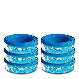 Angelcare Captiva, Refill Cartridges, Pack of 6, Economy Pack