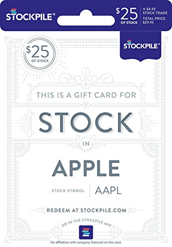 - Gift Card for Apple Stock