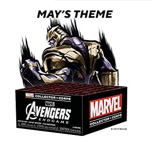 Funko Marvel Collector Corps Subscription Box, Avengers Endgame Theme, May 2019, XS Shirt