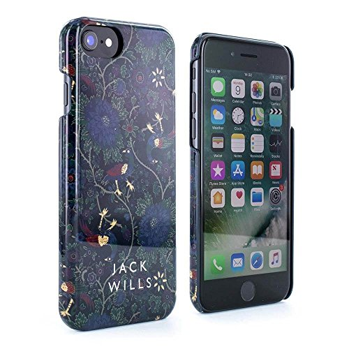 Jack Wills Premium Quality WRAY Glossy Hard Shell Phone Case for Apple iPhone 8