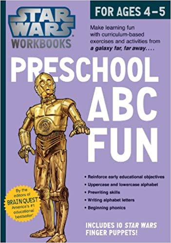 Amazon.com: Star Wars Workbook: Preschool ABC Fun (9780761178033 ...