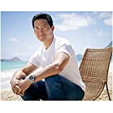 Hawaii Five-O Daniel Dae Kim as Chin Ho Kelly Sitting Casually Looking Handsome 8 x 10 Inch Photo
