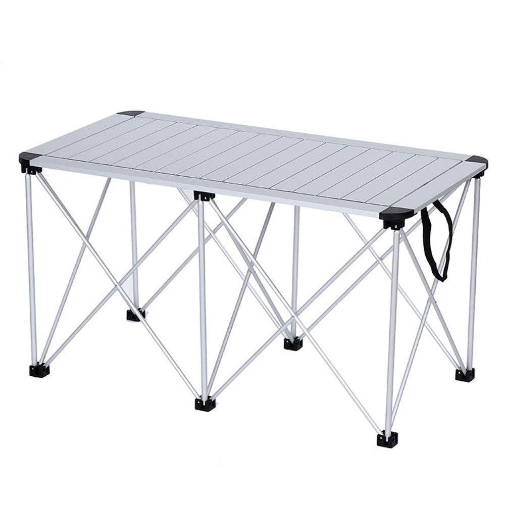 ZR Tavolo pieghevole da picnic portatile pieghevole multifunzionale da campeggio tavolo pieghevole in alluminio da campeggio campeggio luce esterna campeggio, spiaggia, cortile, barbecue, festa e picn