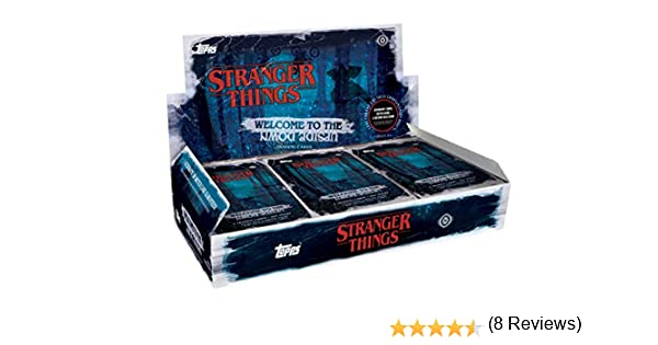 Topps 2019 Stranger Things Welcome to The Upside Down Hobby Box: Amazon.es: Deportes y aire libre