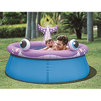Amazon Com Intex Whale Spray Pool 82 Quot X 62 Quot X 39 Quot For