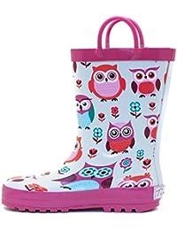 Girl's Rain Boots   Amazon.com