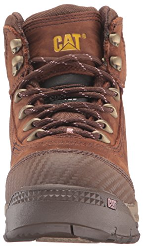 Caterpillar Women's Ally 6'' Waterproof Comp Toe Industrial and Construction Shoe, Brown, 10 W US by Caterpillar (Image #4)