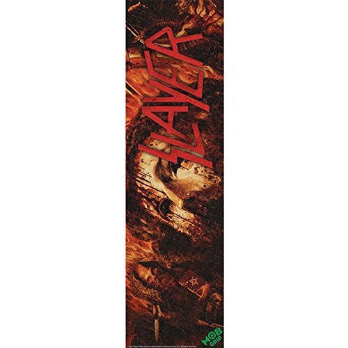 Mob Slayer Repentless Grip 9x33 Single Sheet (Slayer Skateboard Deck)