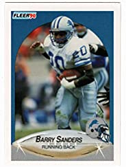 Barry Sanders - Detroit Lions (Football Card) 1990 Fleer # 284 Mint
