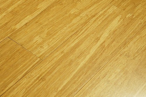 Woven Natural Solid Bamboo Flooring (6 inch Sample) ()